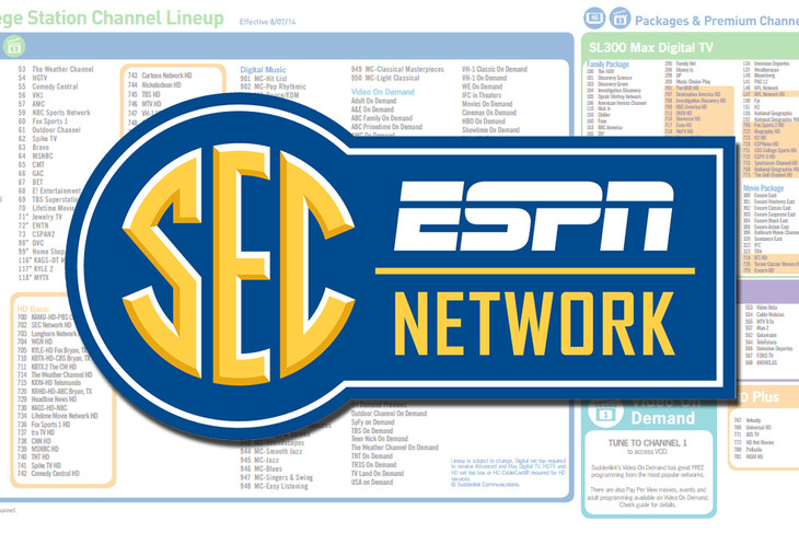 Sec Network Provider Package Requirements And Channel