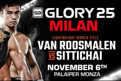 Fight News | GLORY 25: Robin van Roosmalen meets Sittichai Sitsonpeenong for lightweight title on Nov. 6