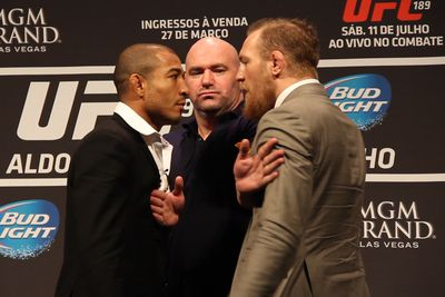 Jose Aldo welcomes pre-fight brawl with Conor McGregor: 'It would be wonderful'