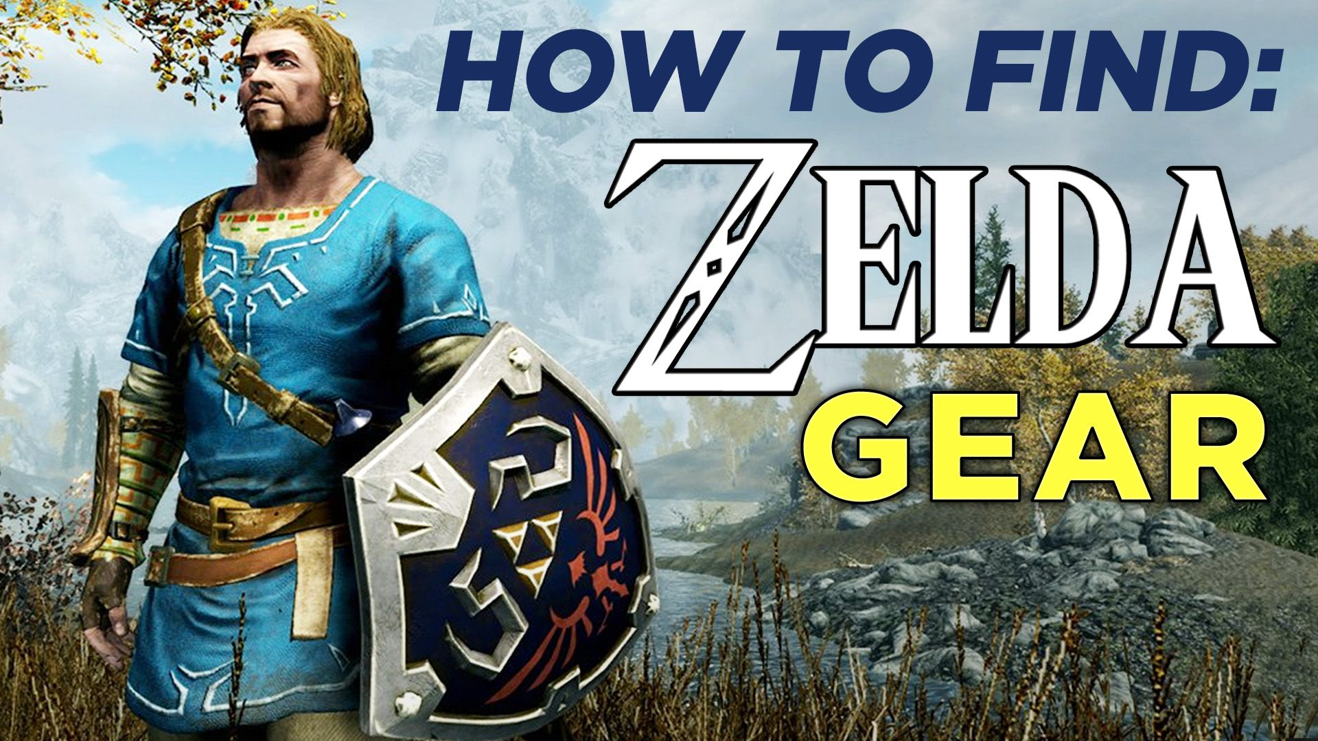 How to find the Zelda gear in Skyrim on the Switch - Polygon