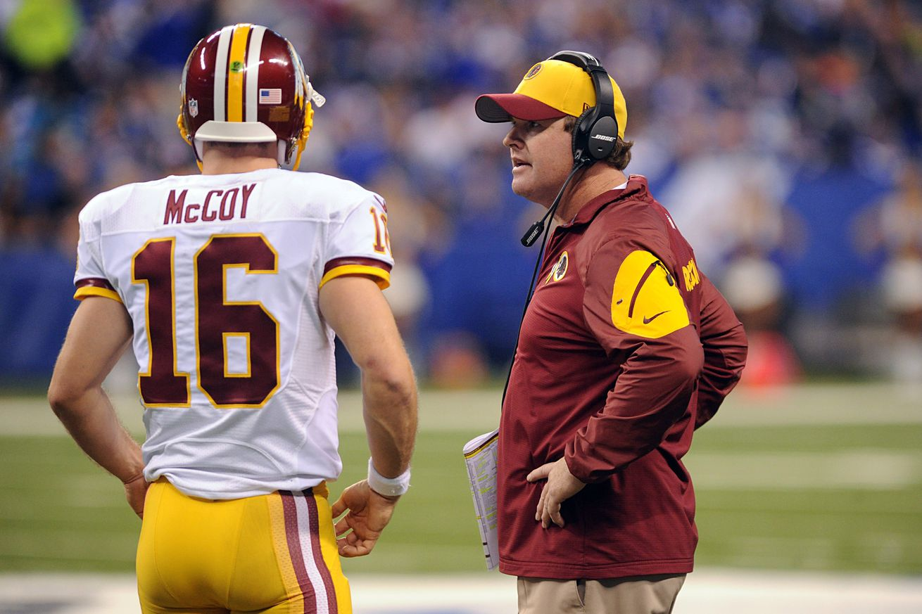 Nike NFL Jerseys - Saturday Slop: Can Colt McCoy Start Games Stronger, Many Different ...