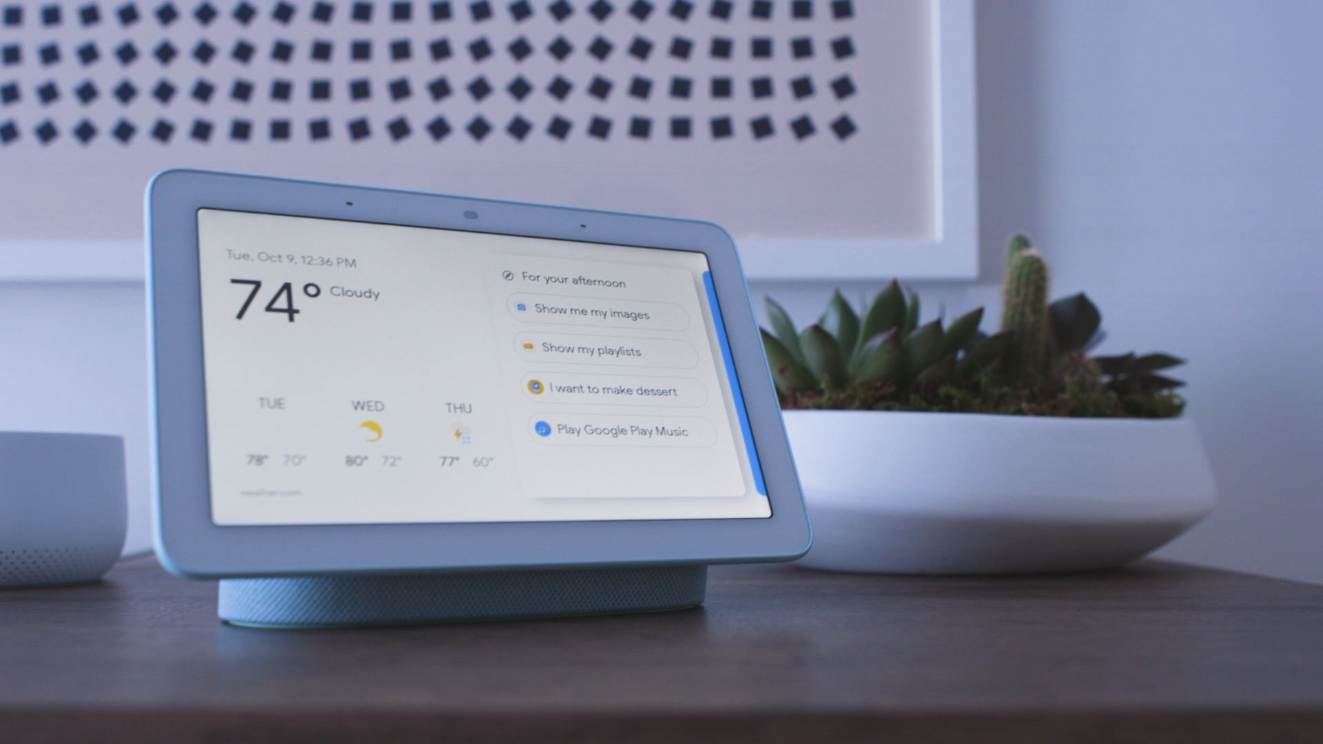The Google Home Hub Will Put Assistant Up Against Amazon S Echo Show