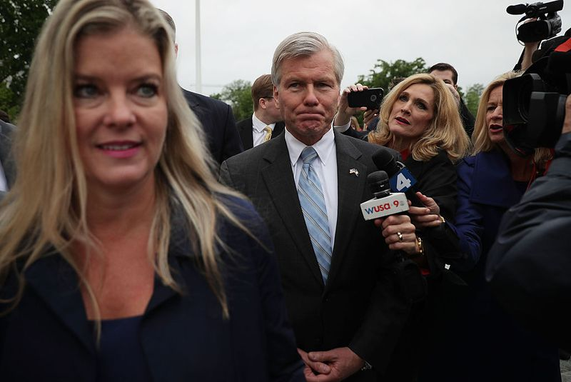 Bob McDonnell at Supreme Court