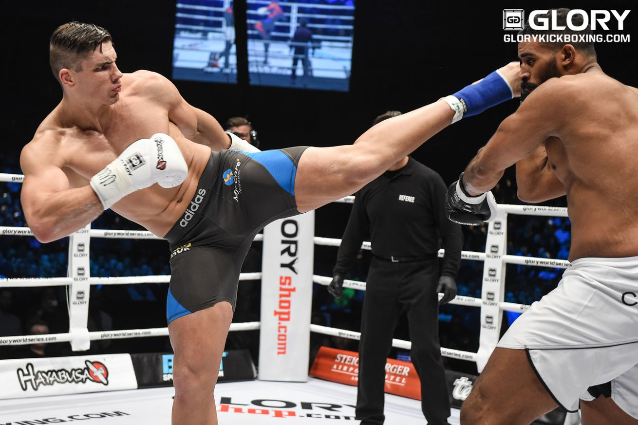 GLORY kickboxing champ Rico Verhoeven trying out AKA, other