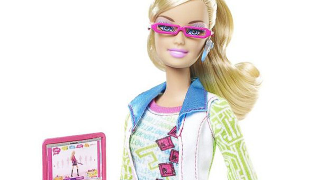 Barbie 39 s getting a new look and a new job as a game - Image de barbie ...