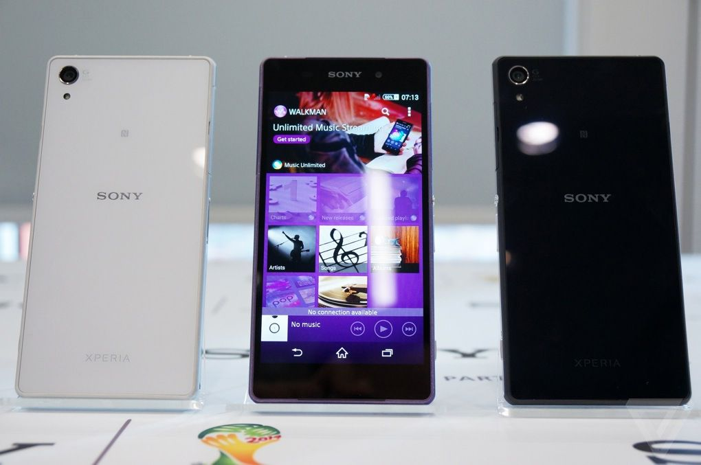 sony 39 s xperia z2 introduces a brilliant new display to the. Black Bedroom Furniture Sets. Home Design Ideas