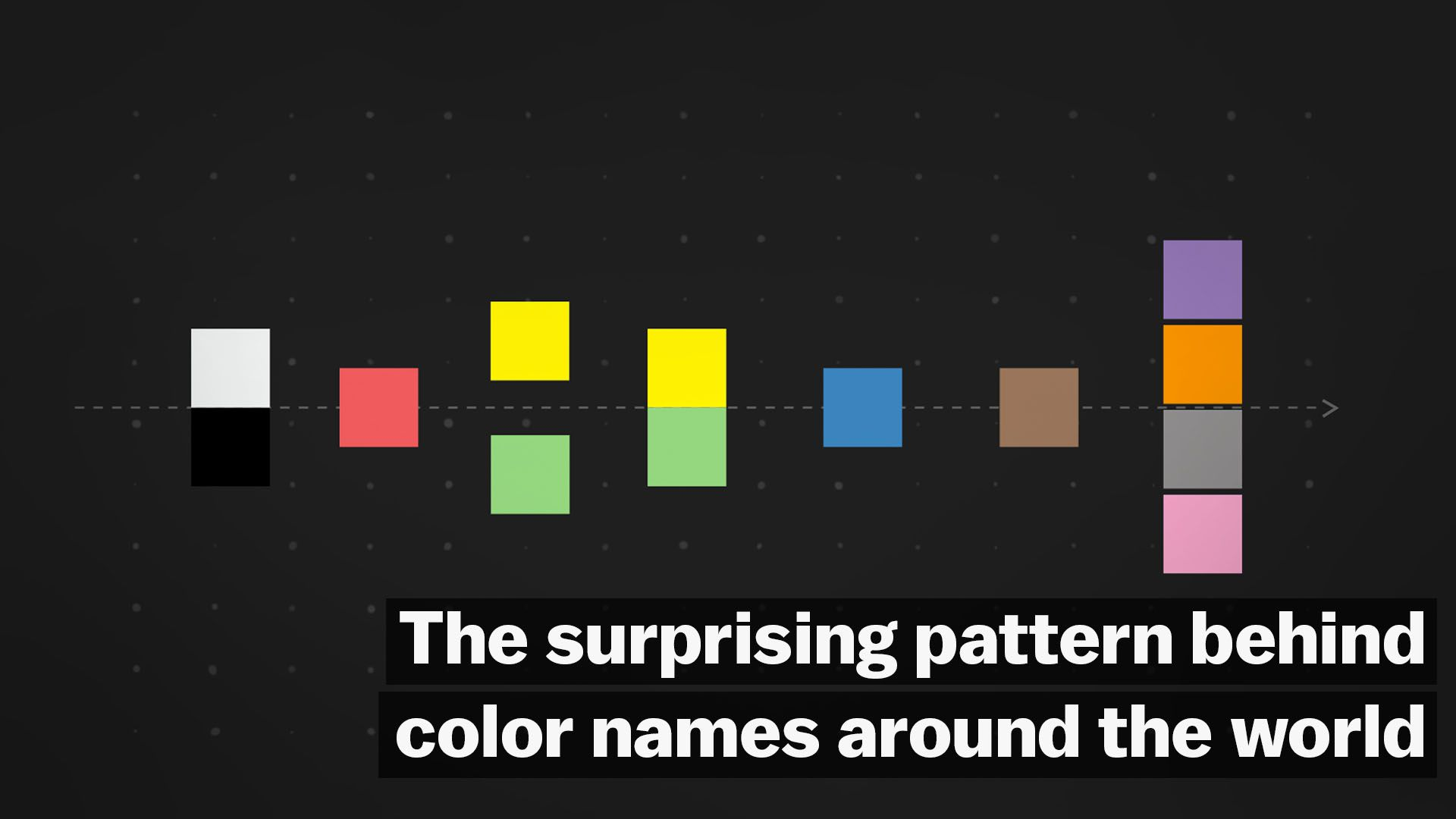 The surprising pattern behind color names around the world - Vox