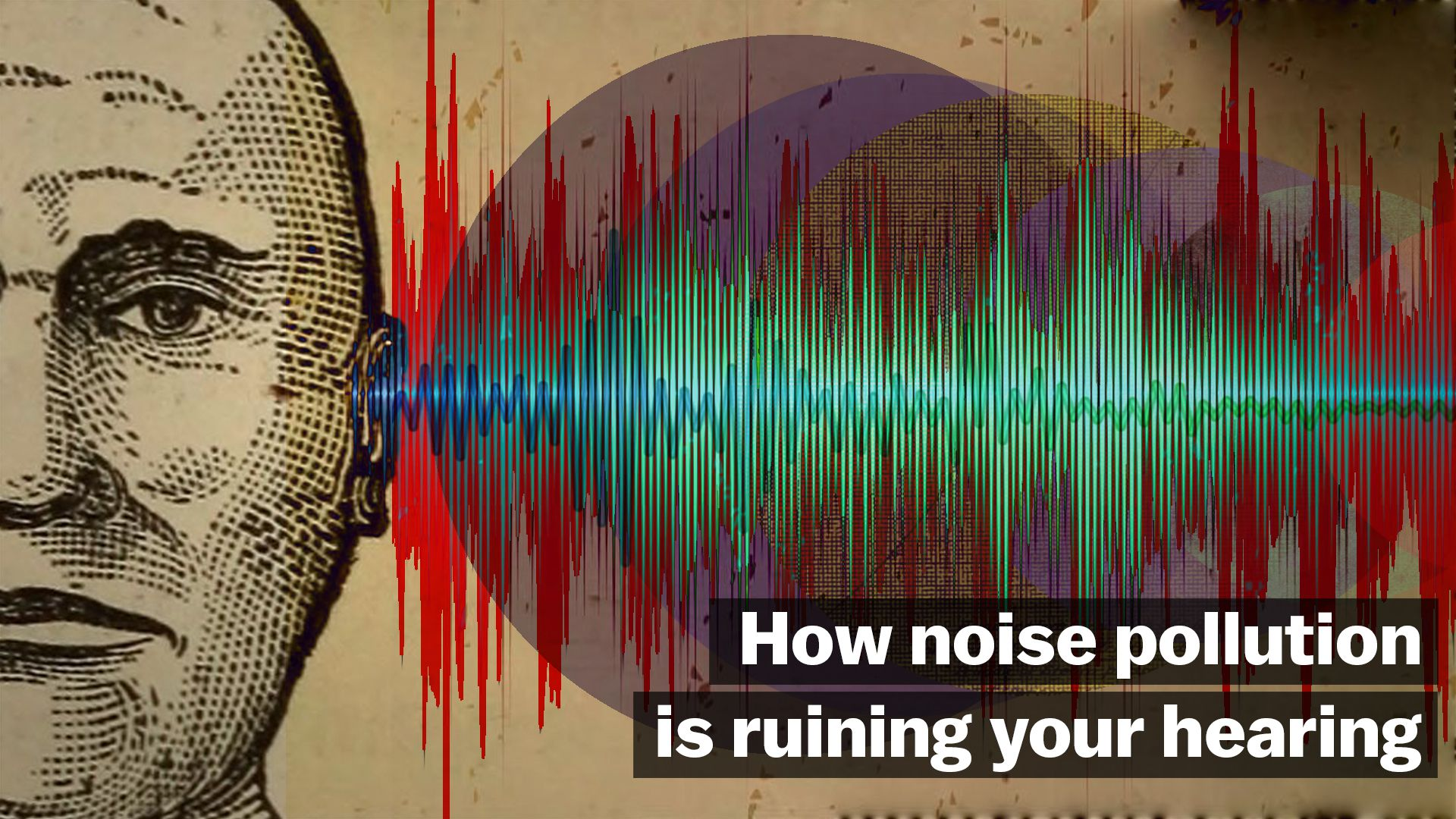 Hearing loss is on the rise  Is our increasingly noisy world