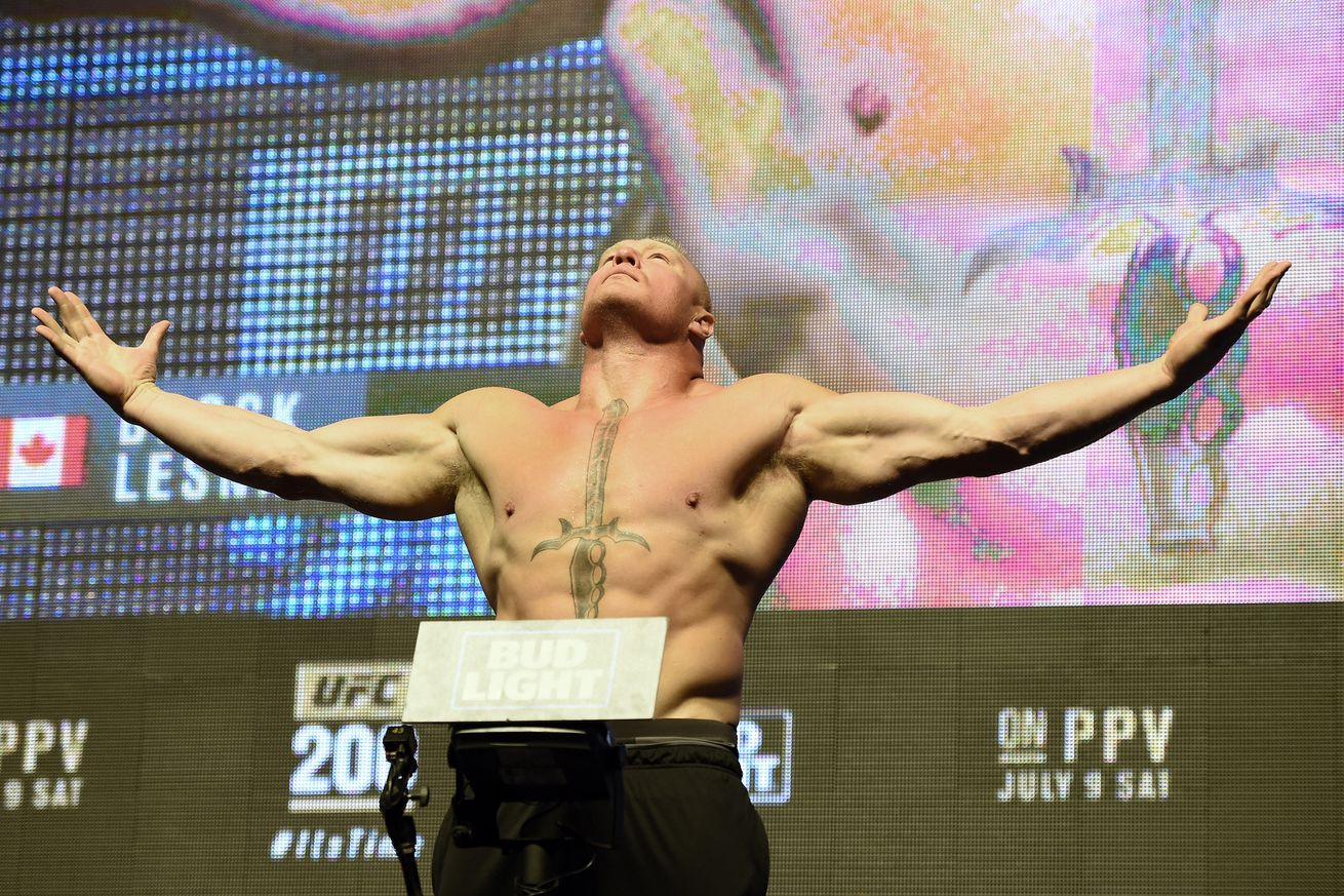Who won UFC 200 last night: Brock Lesnar vs Mark Hunt full fight play by play streaming updates