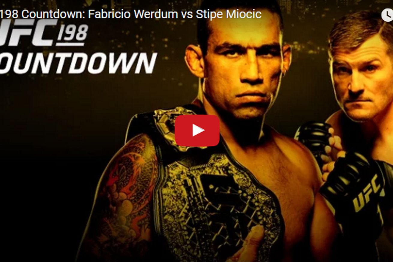 Replay! Watch Countdown to UFC 198: Werdum vs Miocic for May 14 PPV in Brazil