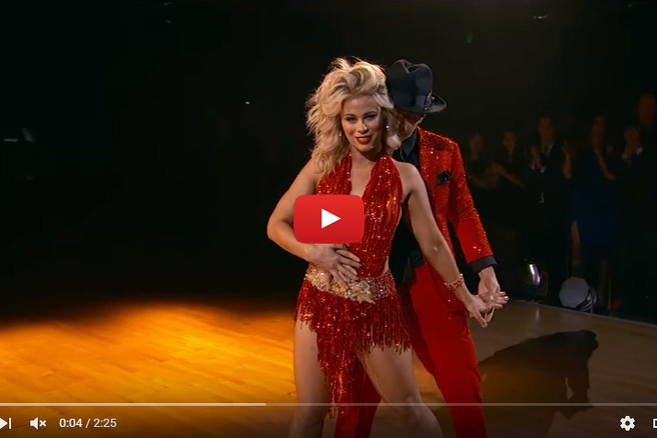 community news, Dancing with the Stars video: Watch Paige VanZant slay Proud Mary for perfect score (Week 7)