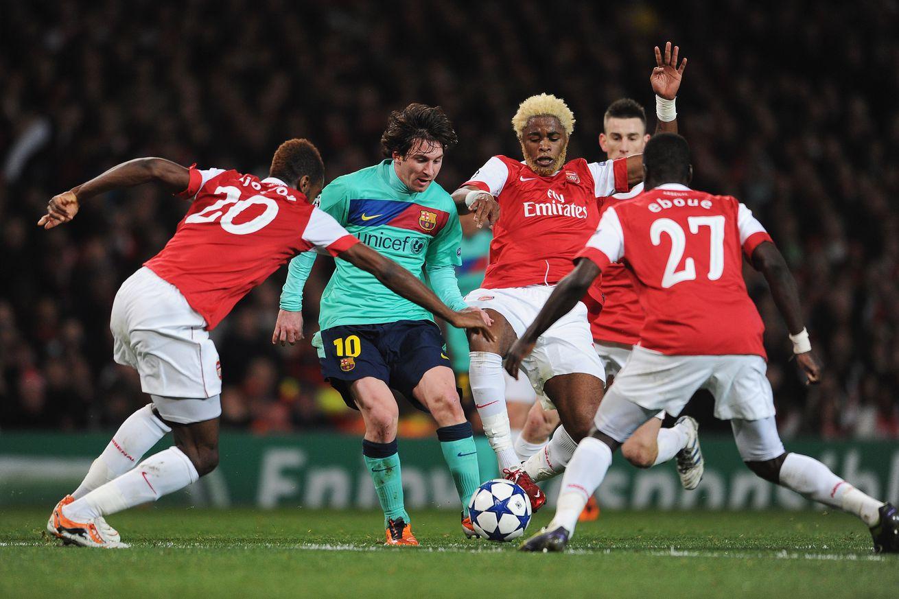 Barcelona Vs: Arsenal Vs Barcelona: UEFA Champions League Matches