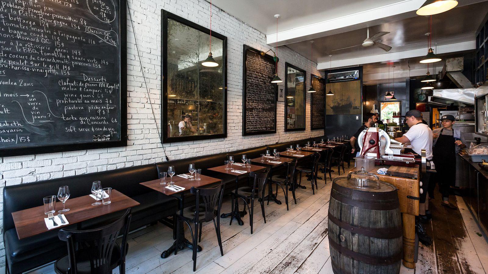 The 38 essential montreal restaurants fall 2015 eater for Equipement de restaurant montreal