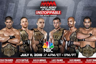 WSOF special to air on NBC in July