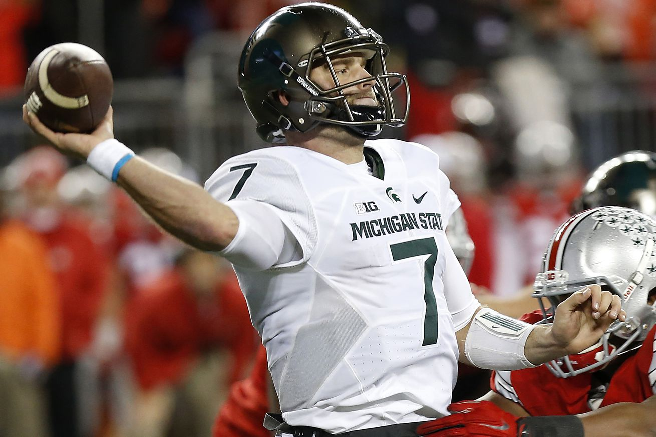 Dantonio names O'Connor starting QB for MSU