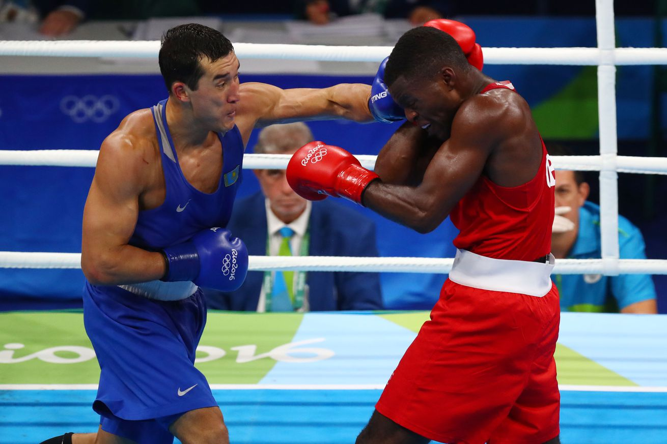 Rio 2016 Olympics: Joshua Buatsi guaranteed medal after sweeping past Abdelhafid Benchabla