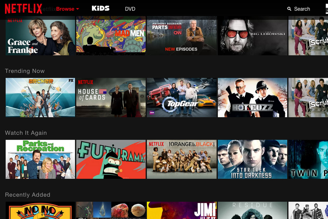 the science behind netflix�s first major redesign in four