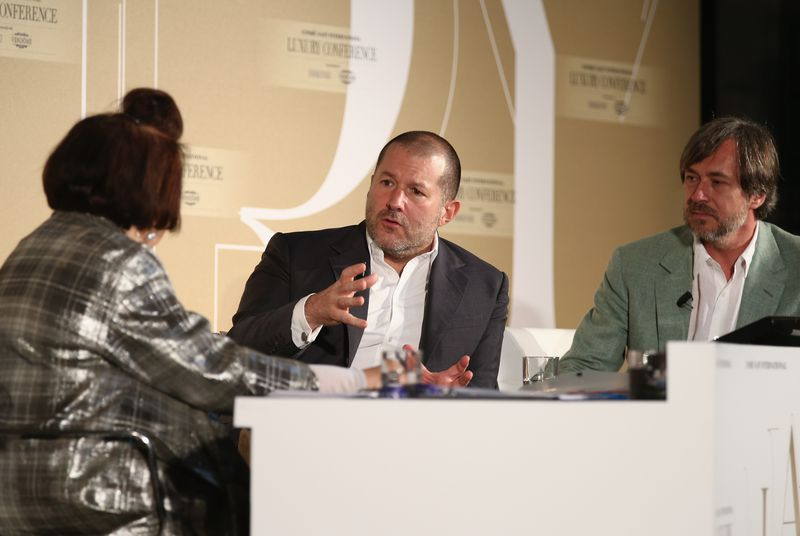 Jony Ive: It's not our intent to compete with luxury goods