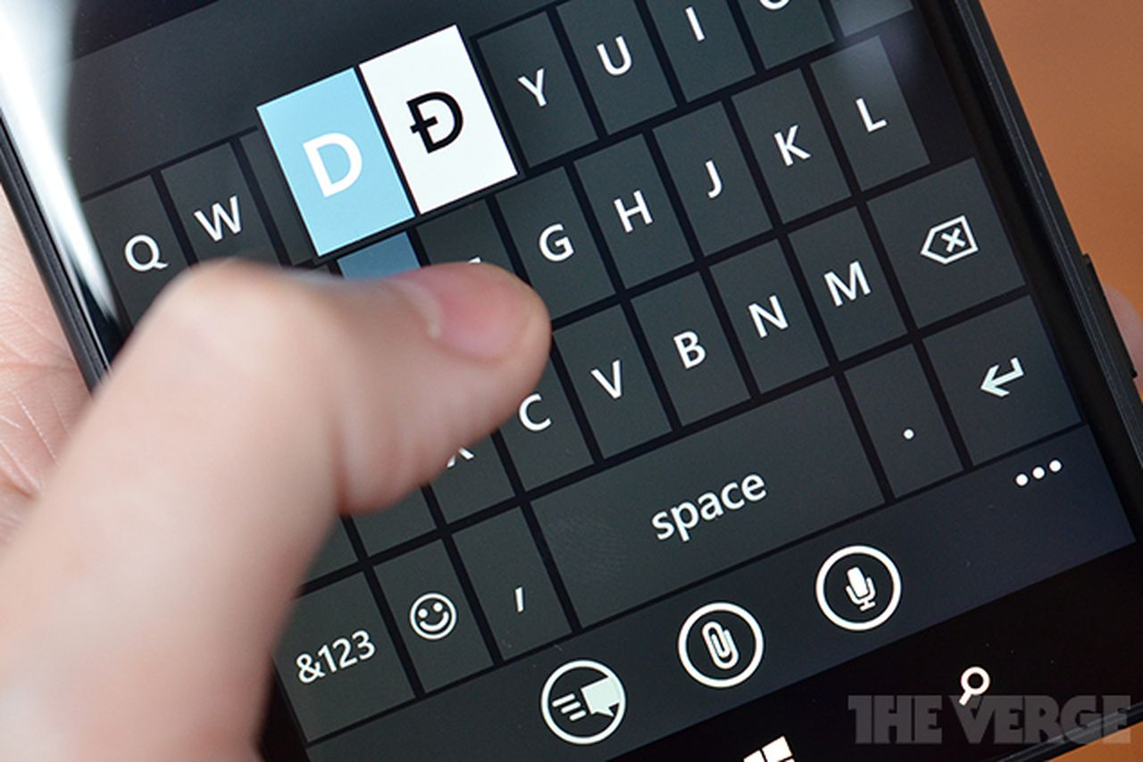 Microsoft is bringing its excellent windows phone keyboard for Window keyboard