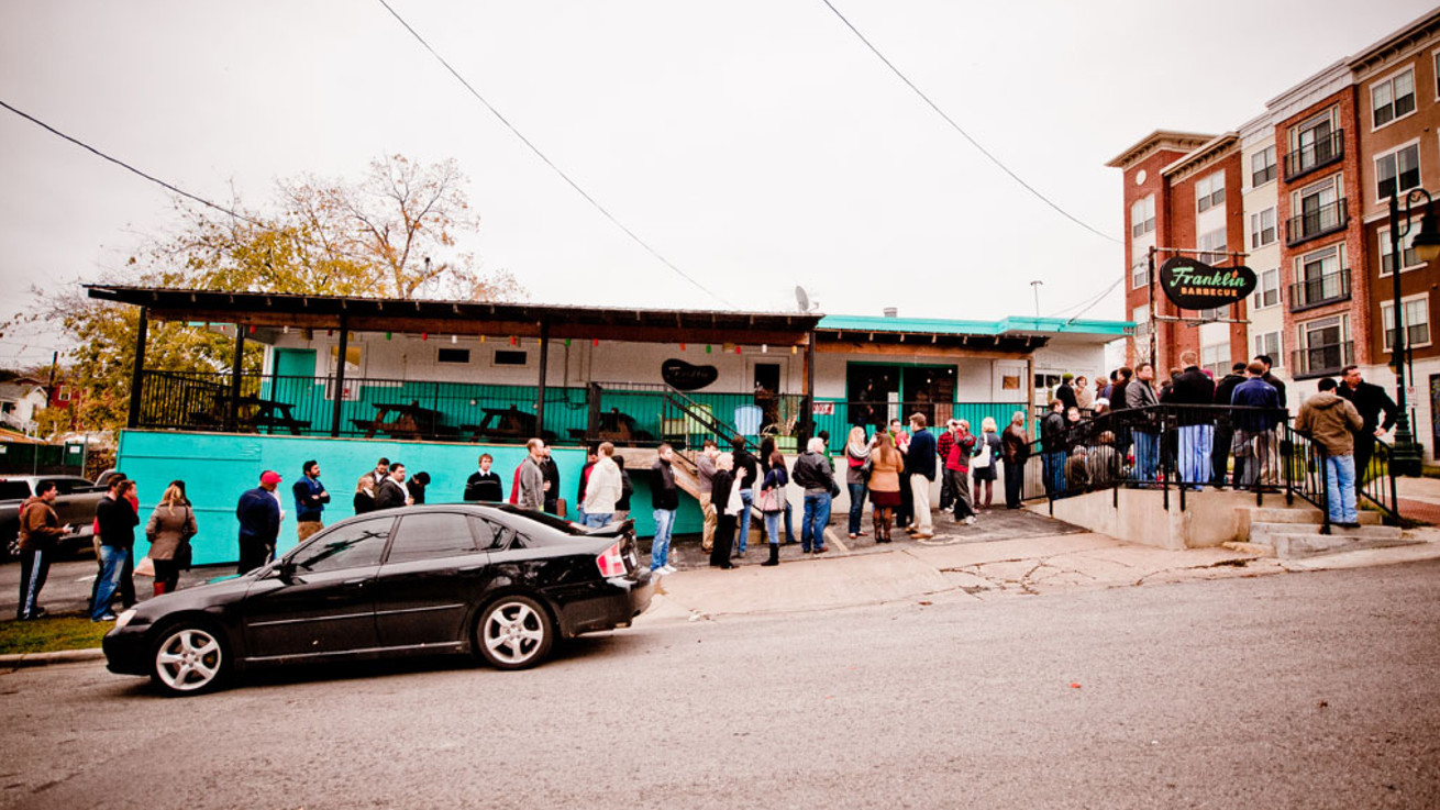 franklin barbecue bans all line holders eater austin