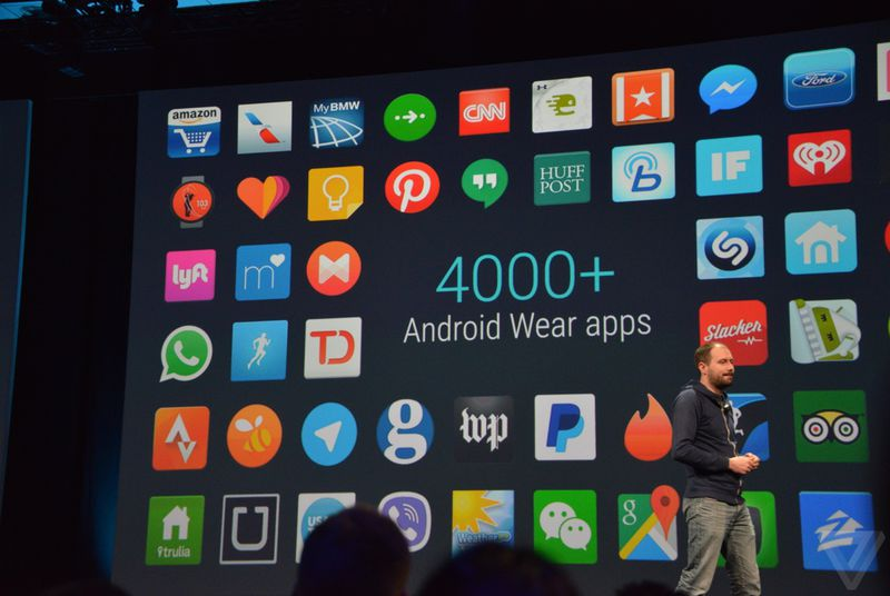 New apps coming to Android Wear include Uber and Foursquare