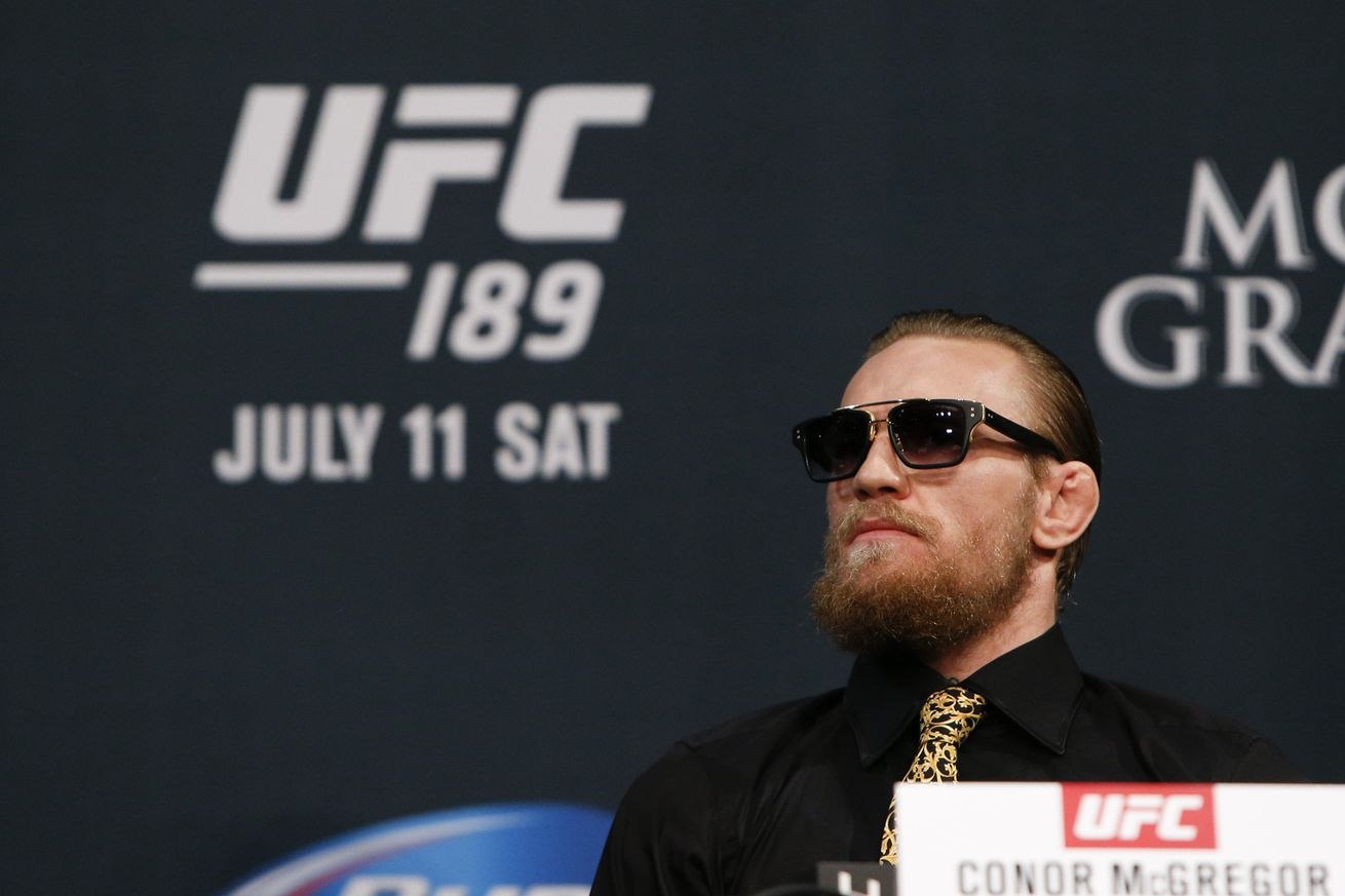Conor McGregor might not fight at UFC 200, but retiring? Fat chance...