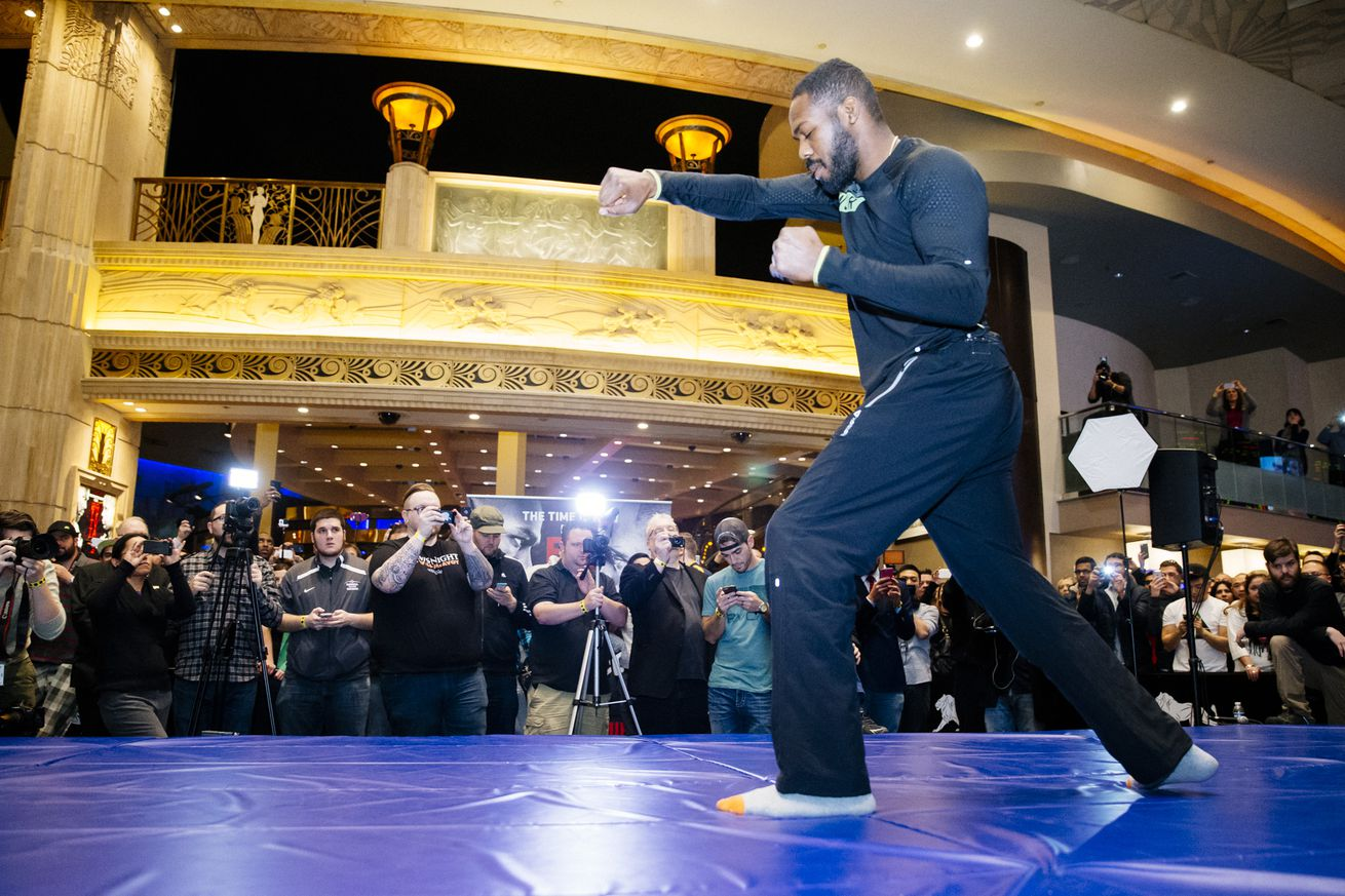 community news, Latest trouble suggests the new Jon Jones may just be spinning his wheels