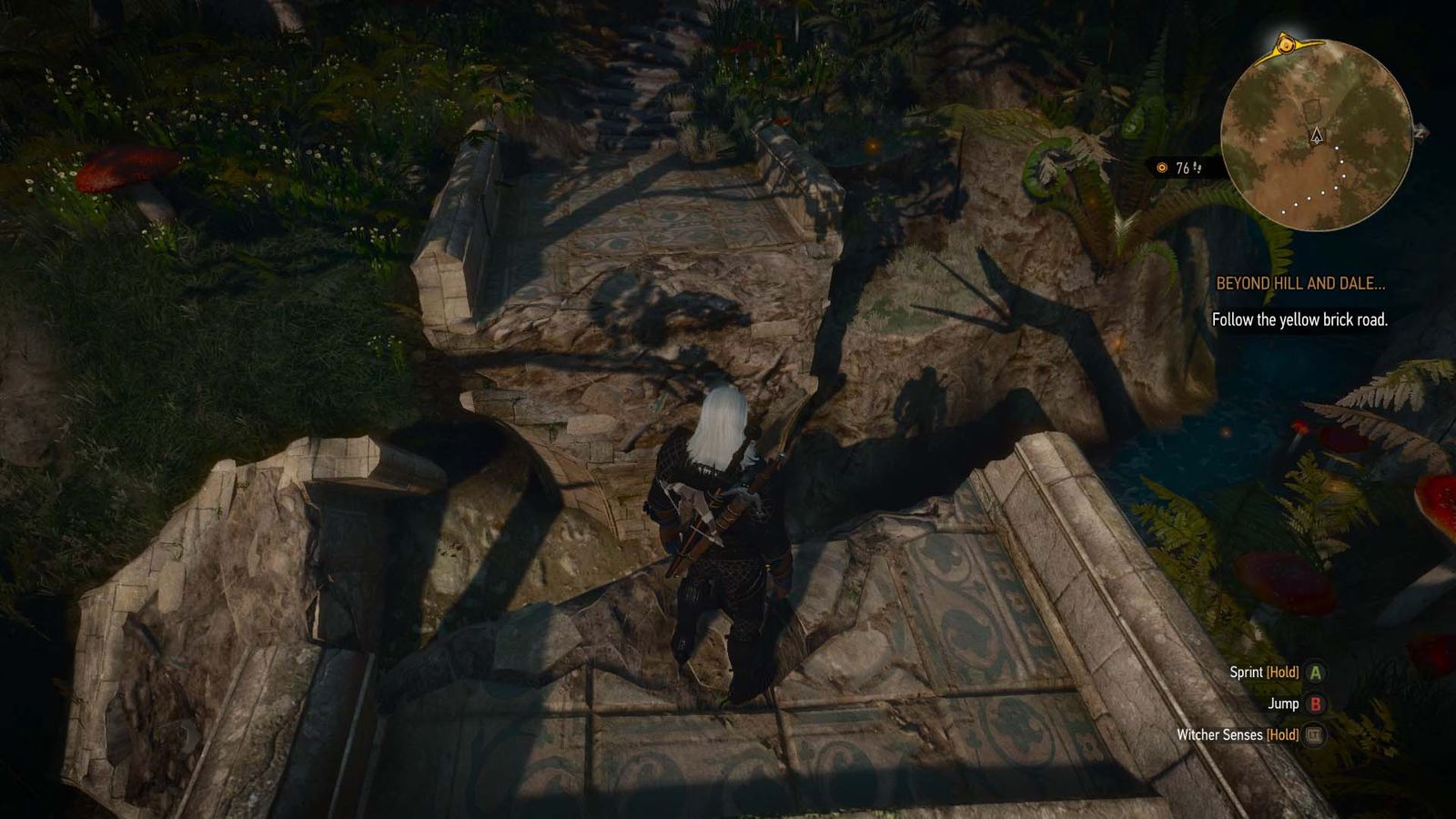 The Witcher 3: Blood and Wine walkthrough: Beyond Hill and Dale   Polygon
