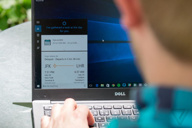 Microsoft previews Windows 10 Skype integration and Cortana inking