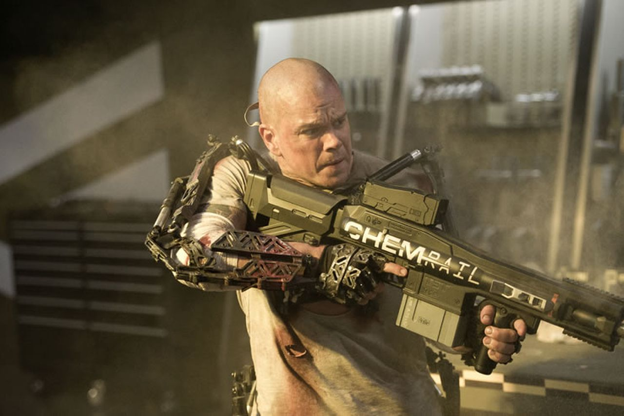 Watch this: New 'Elysium' trailer reveals a dark future ...