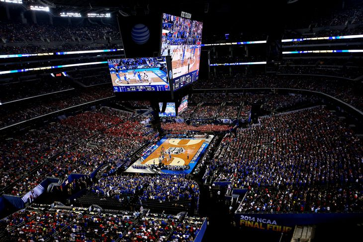 Kentucky Wildcats Basketball Vs Centre Game Time Tv: NCAA Basketball Championship 2014: Game Time, TV Schedule