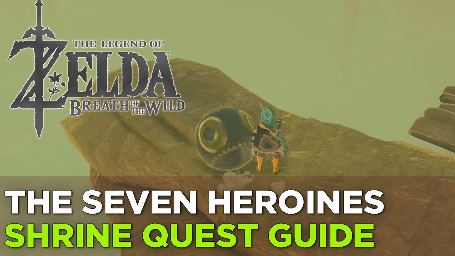 Zelda: Breath of the Wild guide: Korsh O'hu shrine location