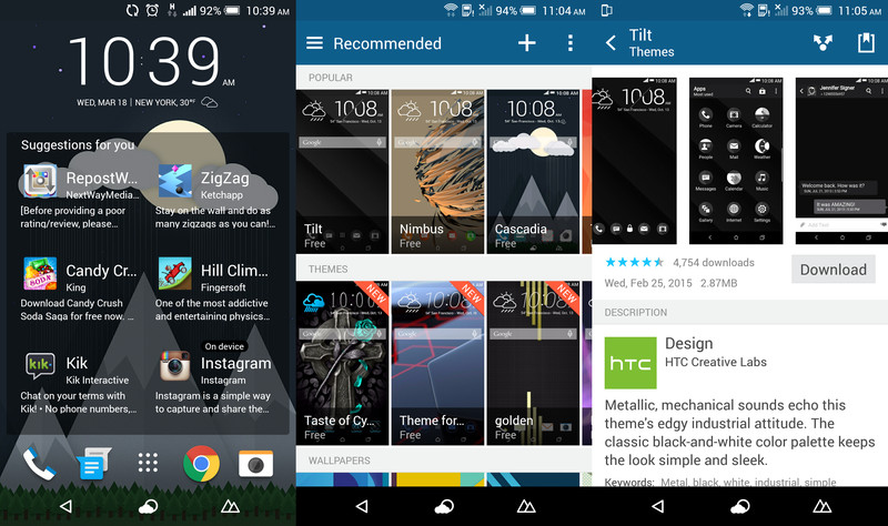 HTC One M9 software