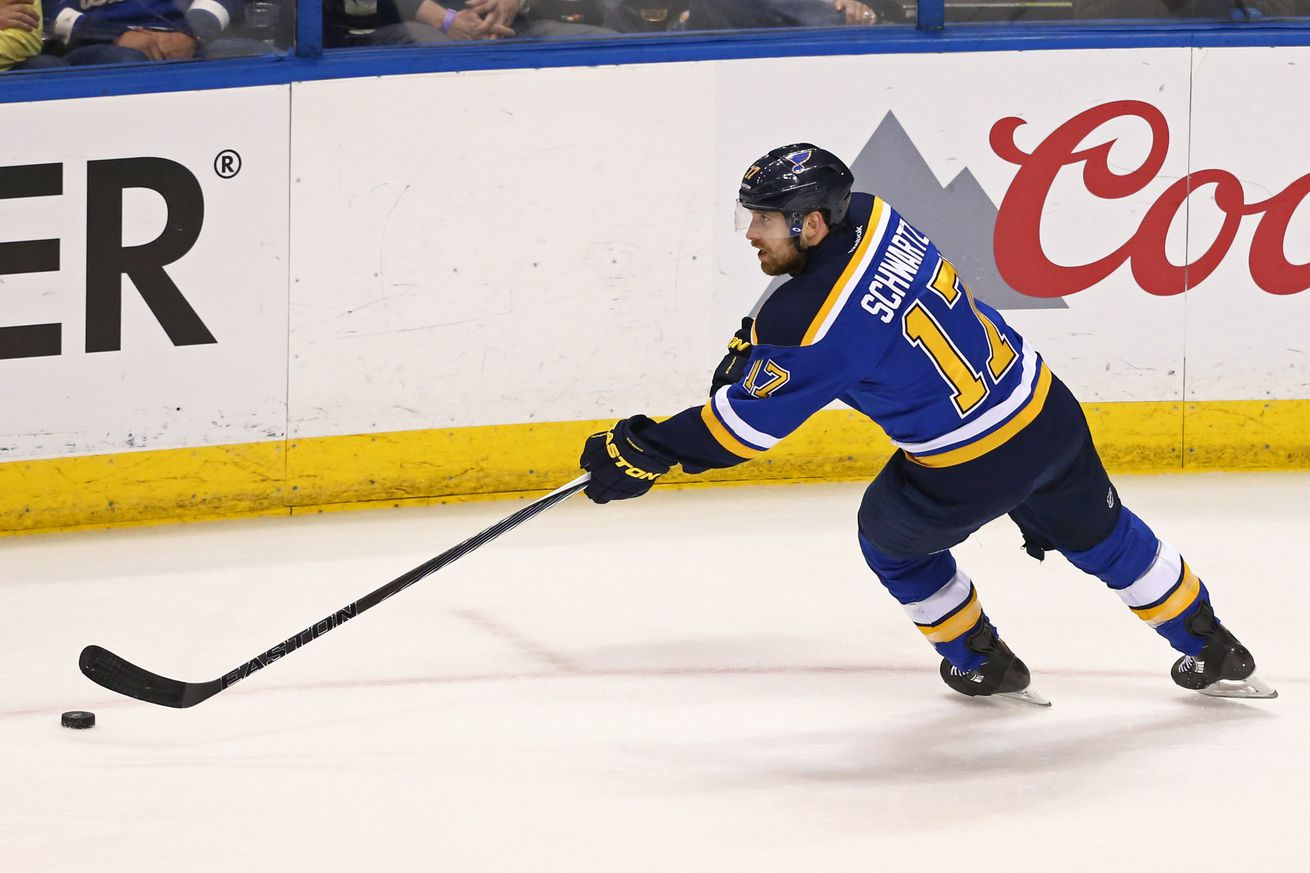 Blues sign Schwartz to five-year contract extension