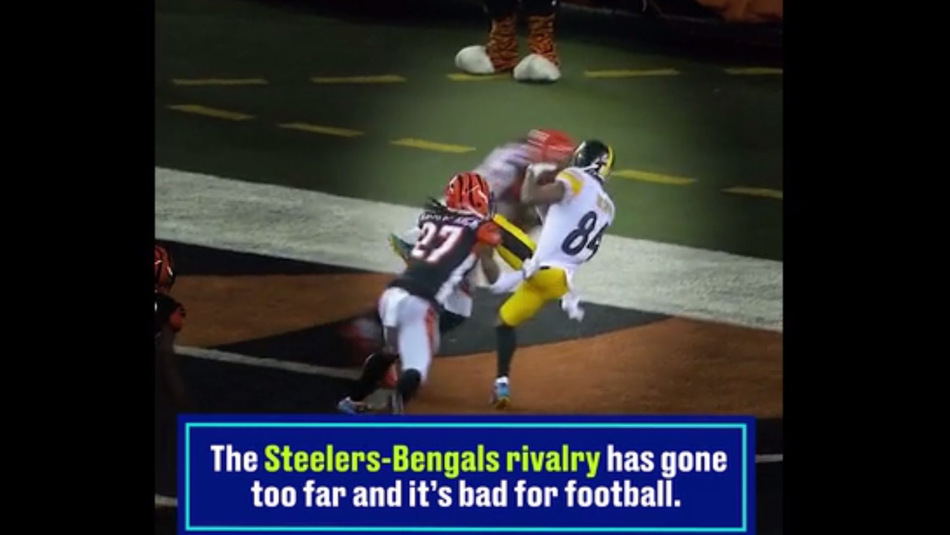super popular b631c d3092 Why JuJu Smith-Schuster was suspended 1 game for hit on ...