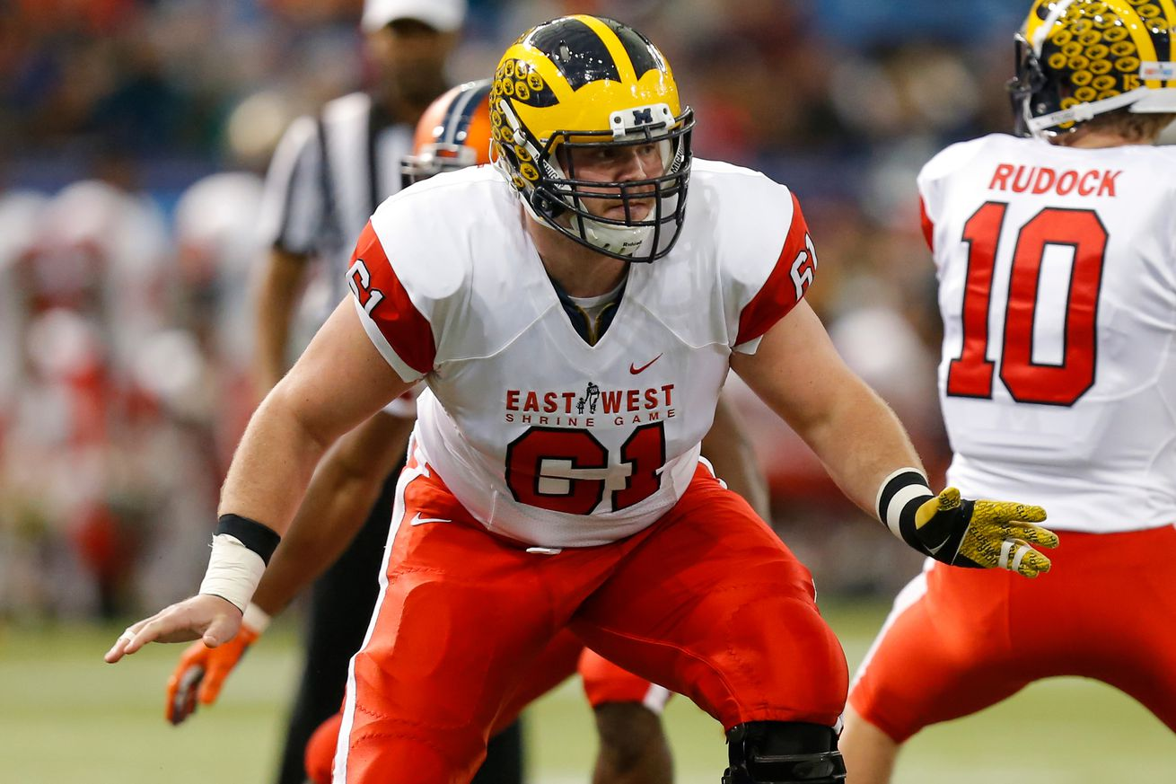 Lions select OT Taylor Decker with 16th overall pick