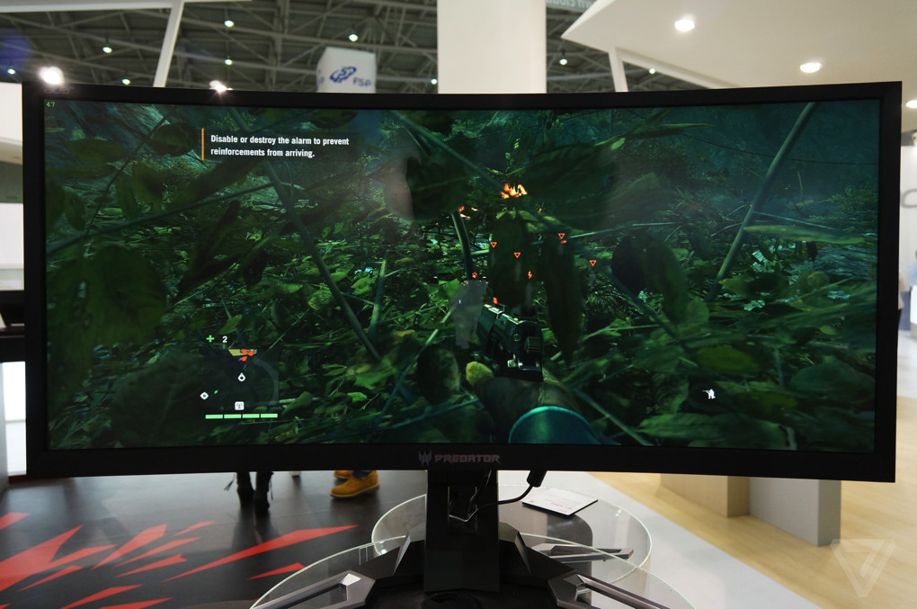 Big, curvy, and beautiful: the next generation of monitors is ...