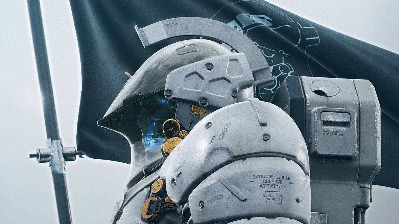 Kojima Productions Has a New Mascot, an Armored Sci-Fi Skeleton