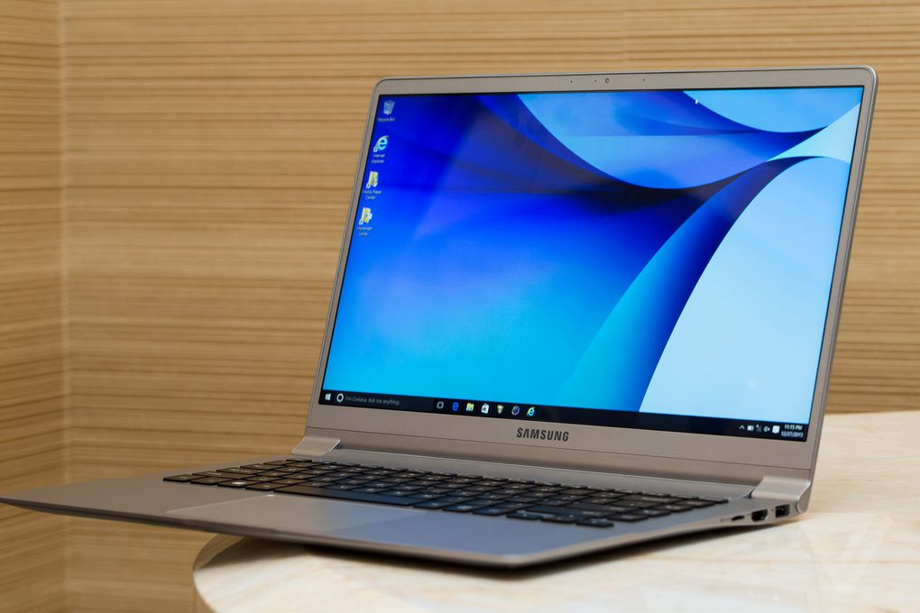 samsung laptop samsung s notebook 9 laptops take thin and light to a beautiful the verge