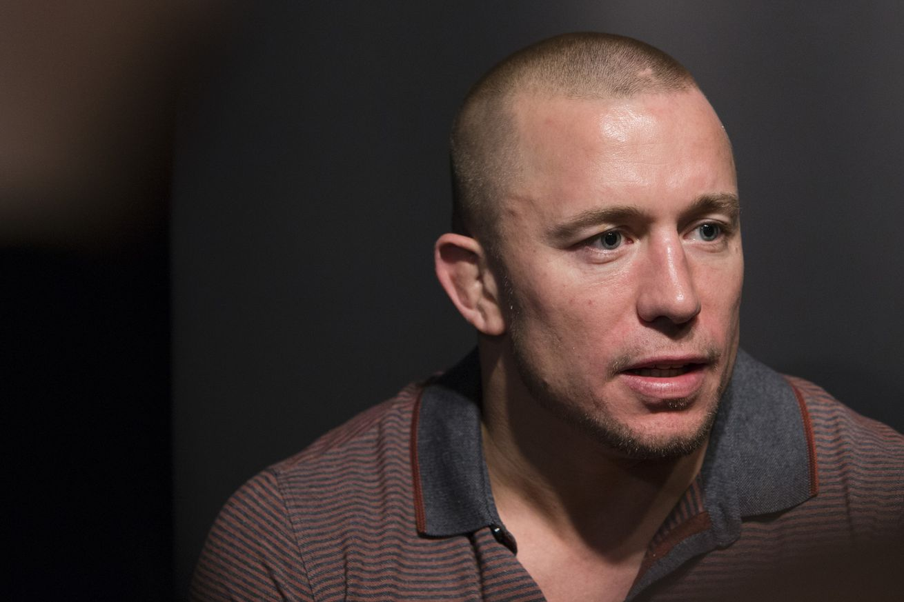 community news, Georges St Pierre interested in fight against Tyron Woodley