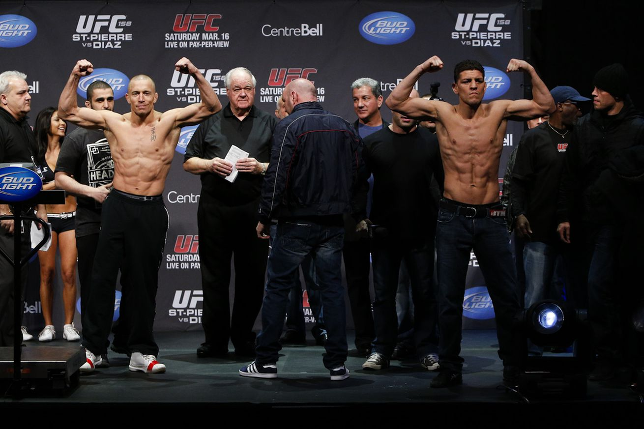 Georges St Pierre: I'd beat Nick Diaz 'way worse' if we fight a second time