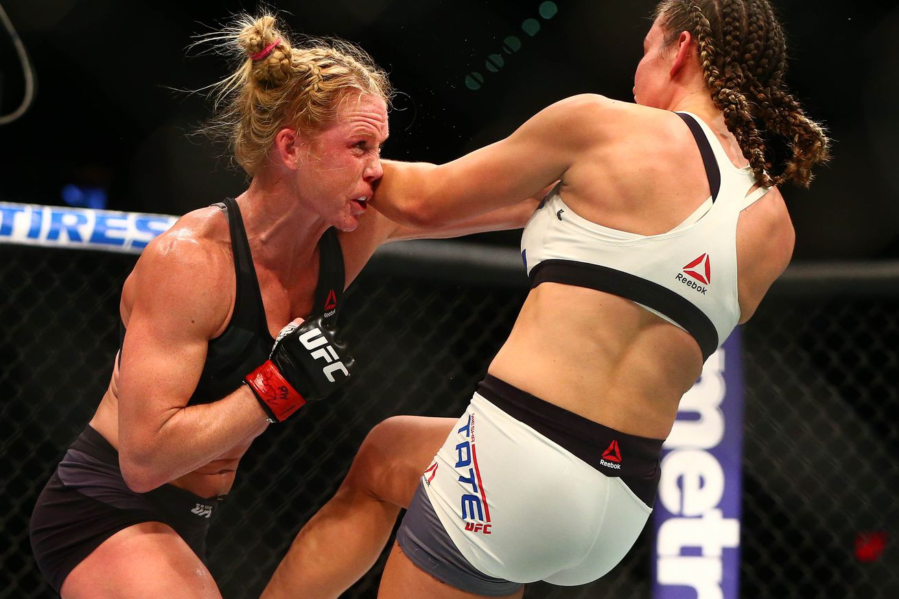 Holly Holm: Miesha Tate fight more competitive than McGregor vs Diaz ... and I dont get a rematch?