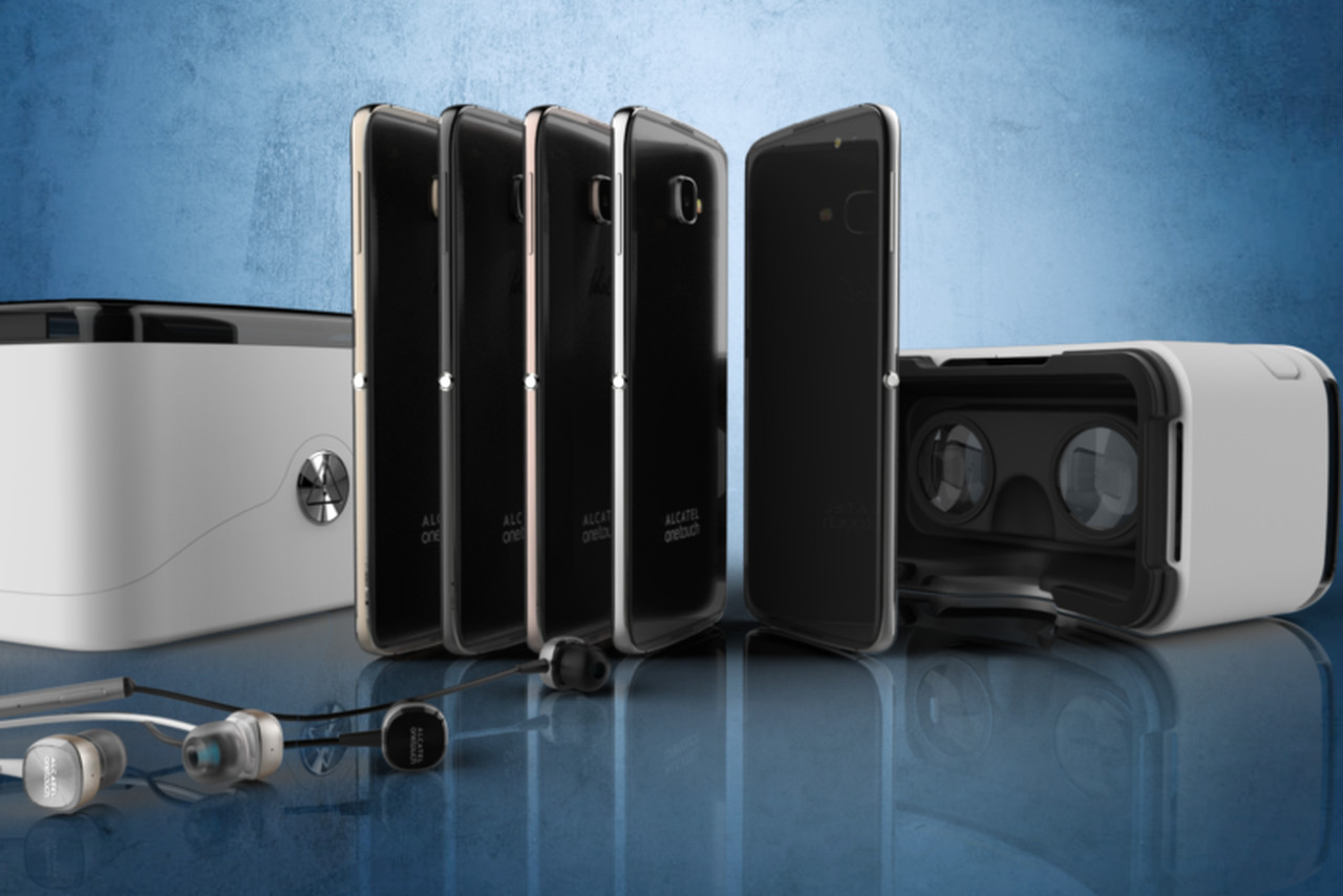 Alcatel OneTouch Idol 4S Box Will Double As A VR Headset