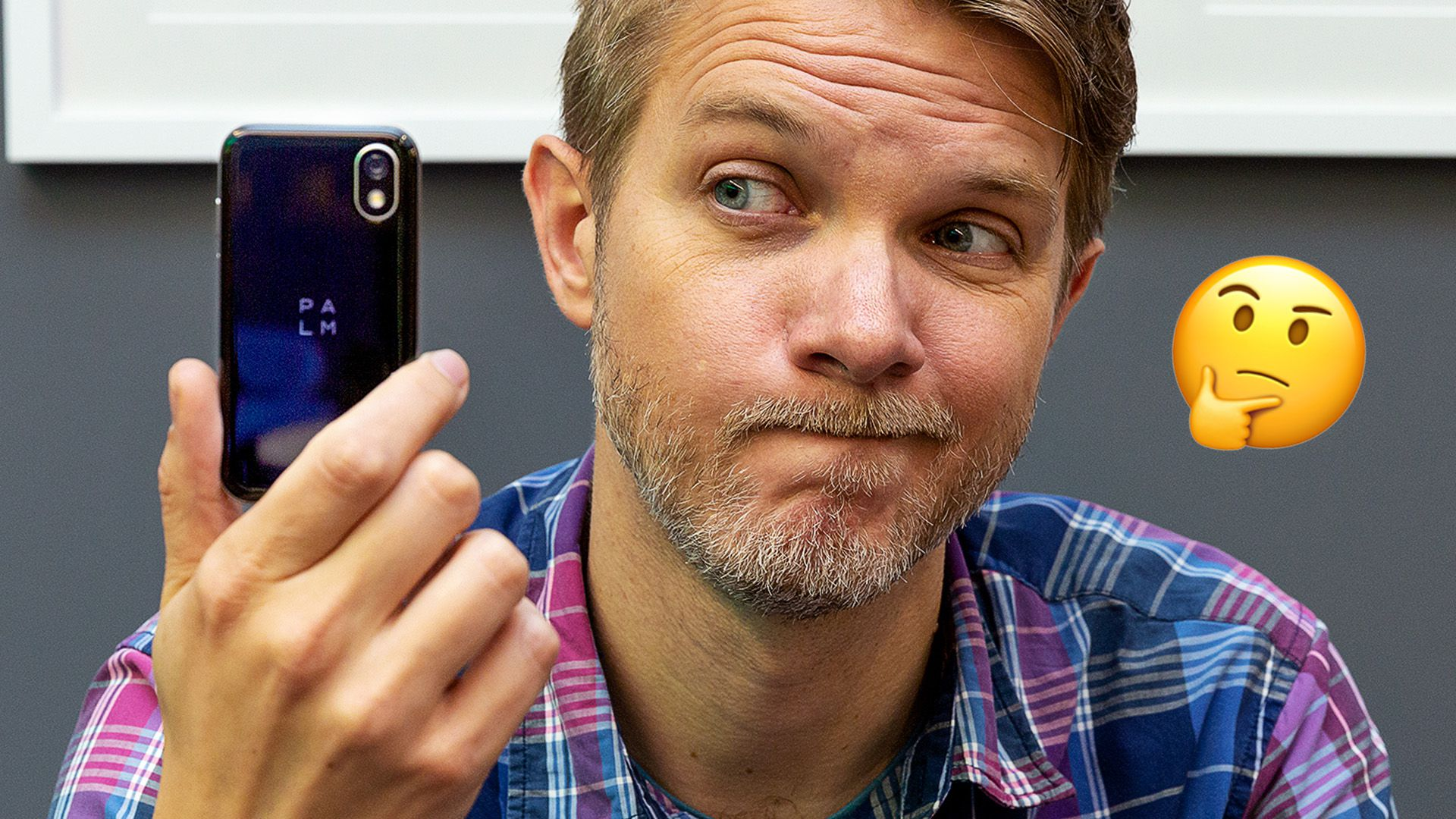 The new Palm is a tiny phone to keep you away from your phone - The