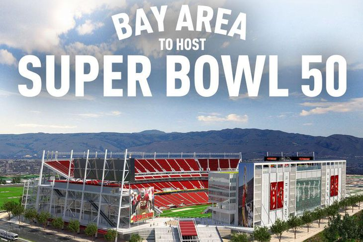 Super bowl 2016 date and location