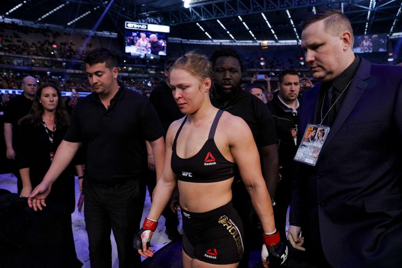 community news, Click Debate: Should Ronda Rouseys suicide comments raise a red flag?