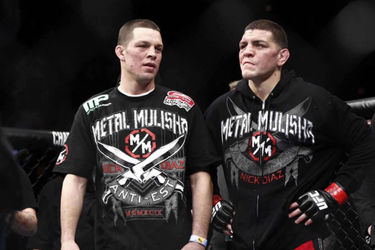 UFC Quick Quote: Nate Diaz wont fight on same card as brother Nick because MMA is a selfish sport