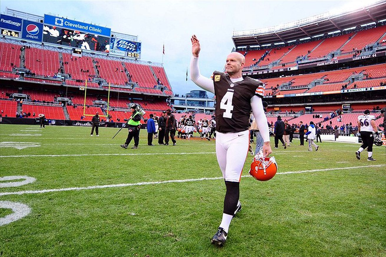 Nike jerseys for Cheap - The Apocalypse: Phil Dawson Says Goodbye to Browns, Joins the San ...