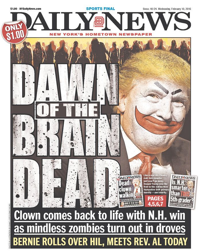 New York Daily News: The New York Daily News's War On Trump, In 5 Front Pages