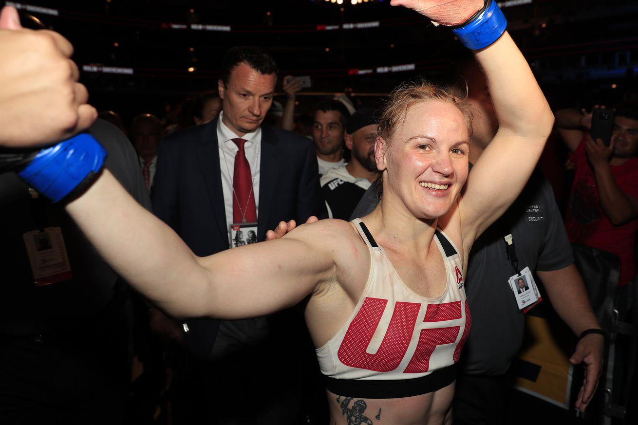 UFC womens bantamweight contender Valentina Shevchenko inks seven fight extension